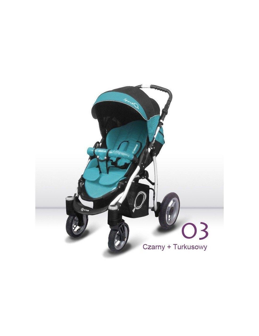 Silla de paseo todoterreno babyactive gastos de env o gratis - Silla de paseo ruedas grandes ...