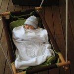 Hamaca Columpio colgante, una alternativa natural a las típicas hamacas de bebé.