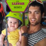 ¿Qué llevamos a una excursión con un bebé?