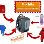 Preparar la mochila en nuestras excursiones con bebés