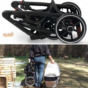 carrito de grandes ruedas