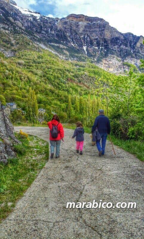 tres generaciones #excursionconpeque