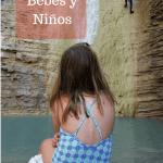 A las piscinas naturales con bebés y niños – baños en las pozas y ríos