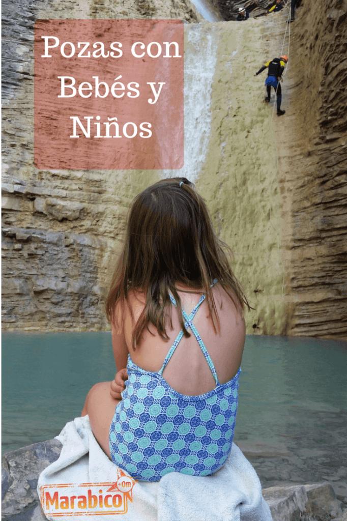 A las piscinas naturales con bebés y