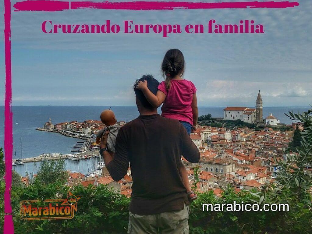 Cruzando Europa en familia
