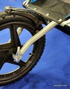 rueda de cochecito específico para correr