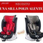 Elegir una silla de coche polivalente y segura para tu hijo
