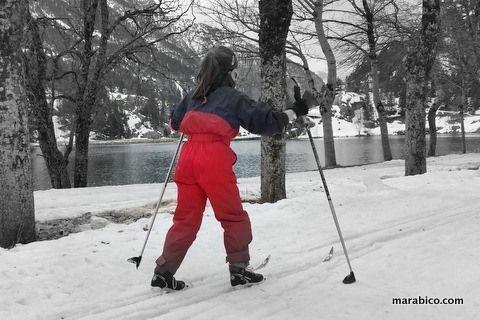 Esquí de fondo con niños