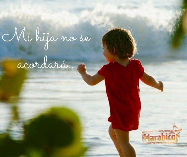 Mi hija en el mar
