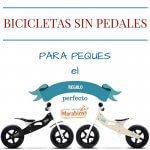 Bicicletas sin pedales para niños. El regalo perfecto.