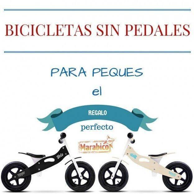 Bicicletas sin pedales para niños