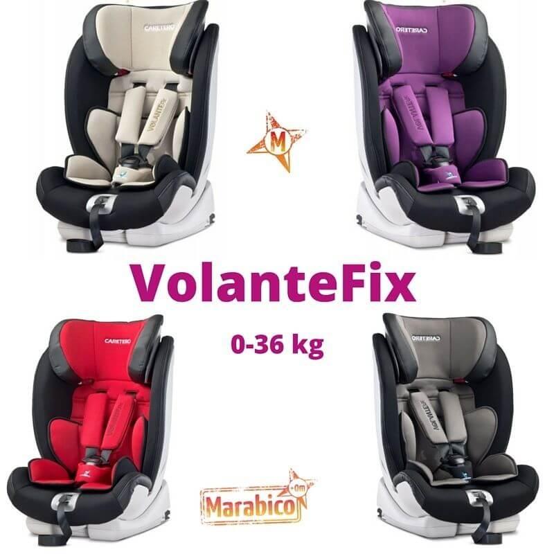 VolanteFix silla de coche 0 a 36 kg