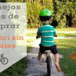 4 características importantes de una bicicleta sin pedales