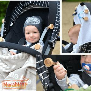 Qué llevar en el carrito de bebé o en la silla de paseo?