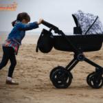 ¿Cómo testamos un cochecito de bebé?