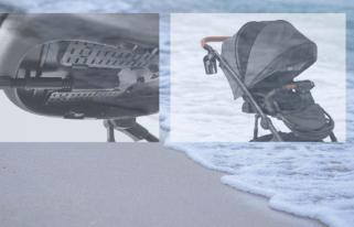 carritos de bebé en verano
