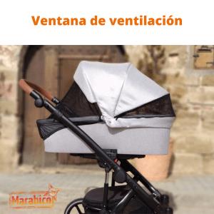 Ventilación en el carrito de bebe