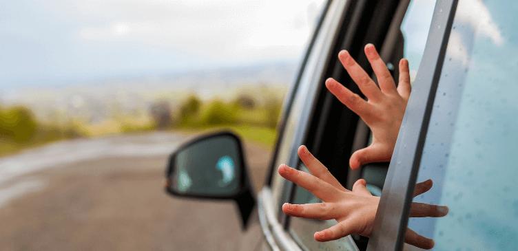 Viajar en coche niños audiolibro